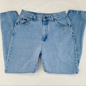 "Vintage Riders by Lee high-rise ""mom"" jeans, 30"